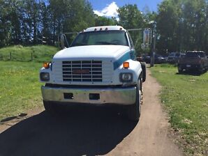 2001 gmc 6500 blasted frame and painted 12.500 obo