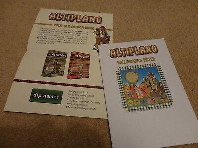 Altiplano board game: Role tile Alpaca Rider promo