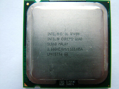 Intel Core 2 Quad Q9400  4 x 2.66GHz  6MB  1333MHz  LGA775 CPU Prozessor