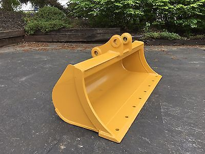 New 48 Grading Bucket For A Caterpillar 303.5cr With Pins