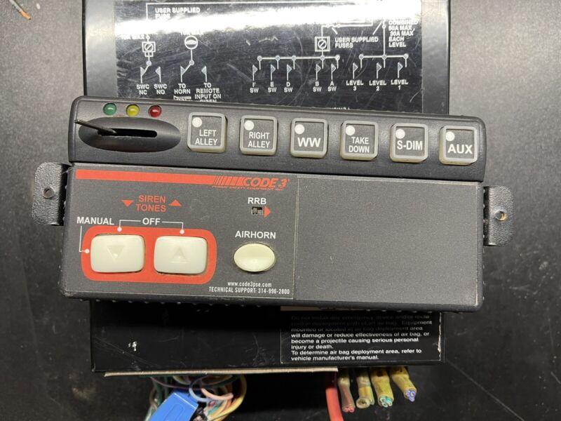 ✅ Code 3 RLS Siren Amplifier And Controller ✅