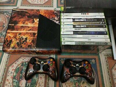 xbox 360 console 120 GB + 10 giochi Xbox 360 italiano