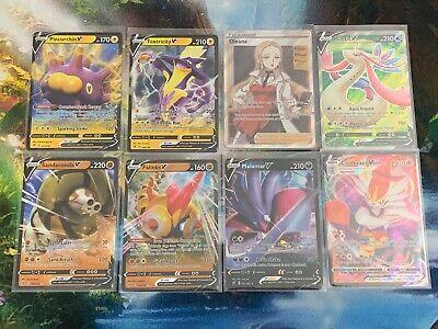 Pokemon Rebel Clash V Lot + Oleana Full Art. All Pack Fresh!!!