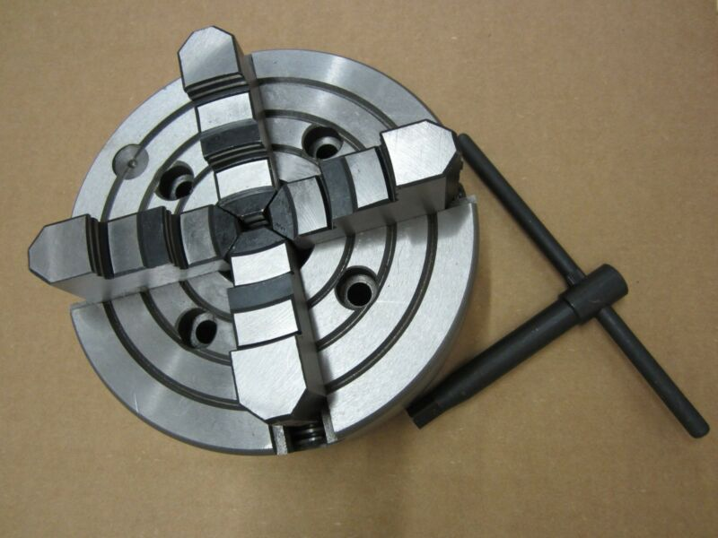 """8"""" Precision 4 Jaw Independent Lathe Chuck"""