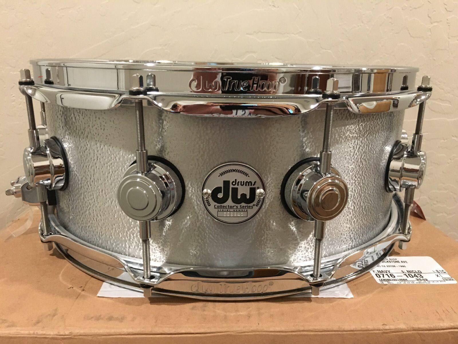 DW Collector's Series 5.5x14 Aluminum Snare Drum w/Chrome Ha