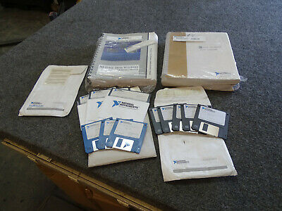 National Instrument Ni-daq For Pc Software Ver 4.6.1 W Manuals Labwindows