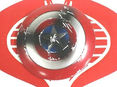 "Marvel Legends Weapon Captain America Shield 6"" Scale Civil War 3 Pack Accessory"