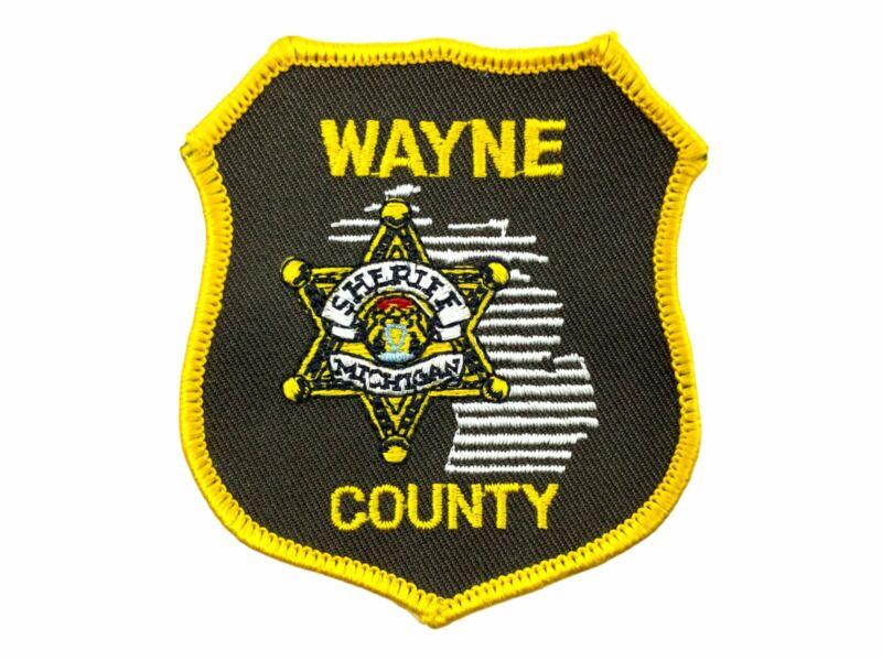 US Wayne County Sheriff Michigan Police Patch