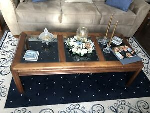 Coffee table and end tabkes