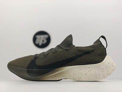 "9e696db50818 Men s Nike Vapor Street Flyknit ""Green"" Size-9.5 Olive Sequoia Tan (AQ1763"