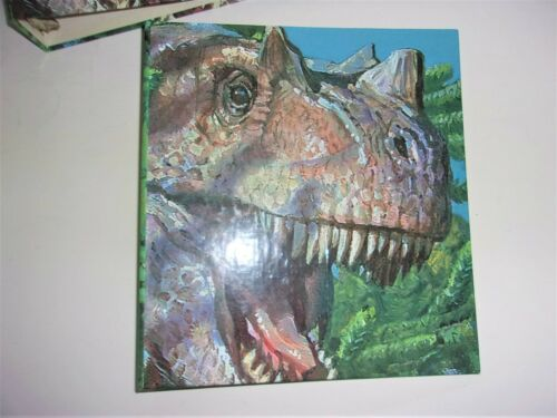 Vintage USPS Dinosaur 3 Ring Binder World Of Dinosaurs NOS 1997 Ceratosaurus