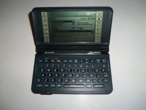 Sharp Zaurus ZR-5000 PDA  Working