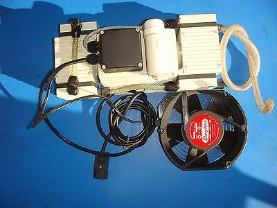 Varian 949-9441 Vdp12 Diaphram Vacuum Pump Wdayton 4c270 Fan S15