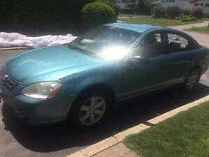 **2003 Nissan Altima** PARTS ONLY