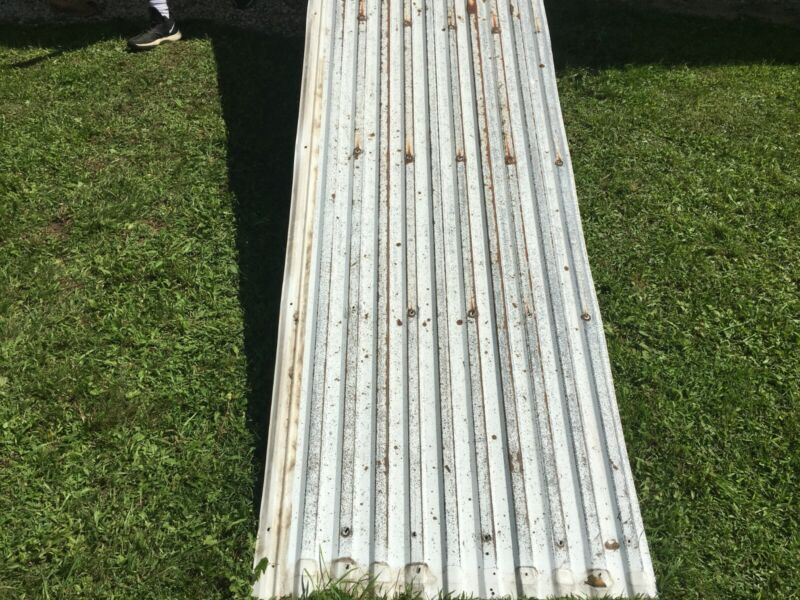 Reclaimed Barn Tin Roofing - 35 sheets