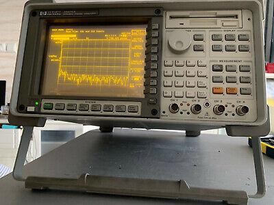 Hpagilent 35670a Fft Dynamic Signal Analyzer 4ch Ay6 Loaded