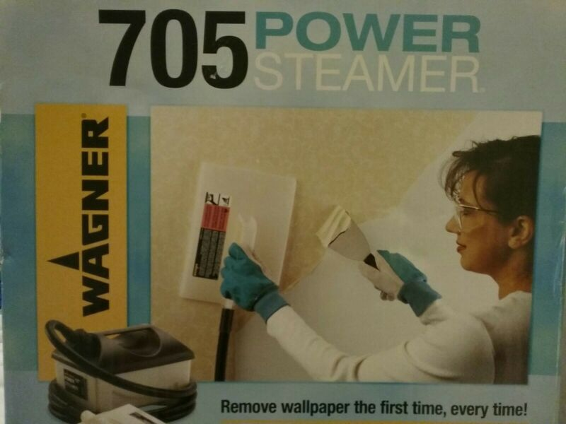 Wagner 705 Power Steamer Wallpaper Remover Chemical Free 1 Gallon Capacity