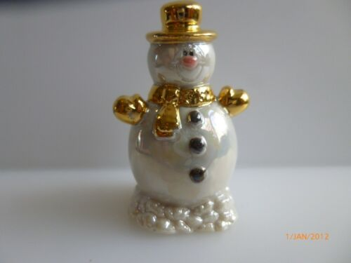 WADE WHIMSIE SNOW MAN GOLD HAT LE 20