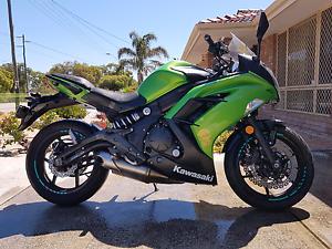 Kawasaki Ninja 650L ABS lams approved Malaga Swan Area Preview