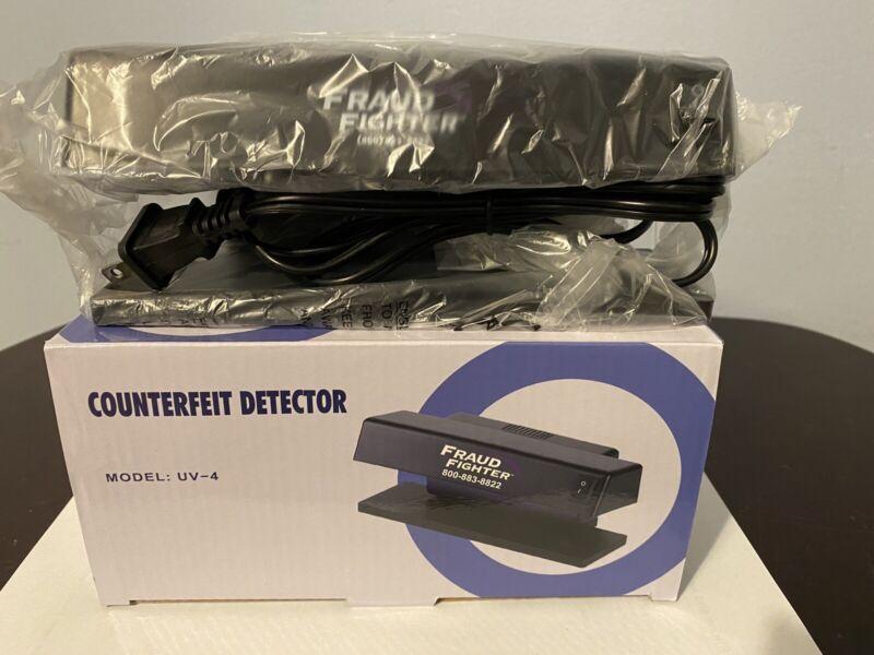 Counterfeit Money Detector Machine & UV Detection NIB