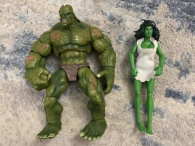 Marvel Legends END HULK & SAVAGE SHE HULK Fin Fang Foom BAF Wave
