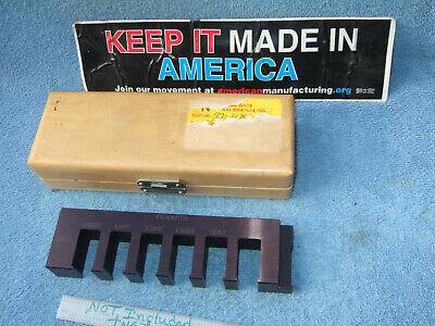 Kalmaster Greenfield Gage 7-12 Long Usa Made Toolmaker Machinist Inspection Qa