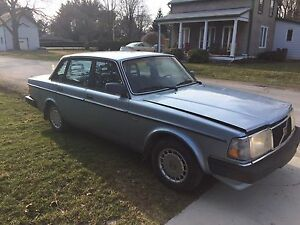 Beautiful Light Blue 1990 Volvo 240DL Sedan -BC Car