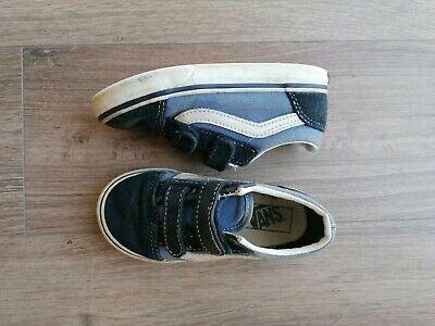 Blue Infant Vans Size 8
