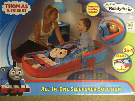 NEW Thomas the Tank Engine Toddler Bed sleeping bag with air mattress Kingsley Joondalup Area Preview