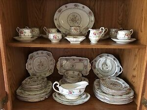 Royal Albert Petit Point Bone China from England