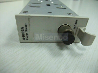 Agilent 81632a Optical Power Sensor Module
