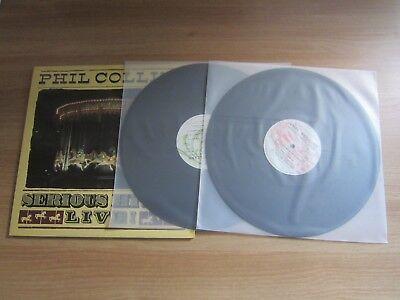 PHIL COLLINS SERIOUS HITS LIVE RARE 1990 KOREA 2 ORIG LP Genesis