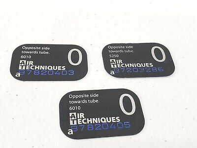 Air Techniques Scanx Phosphor Dental Plates Genuine Size 0 3pk