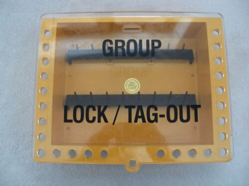 Saalman Safety Systems Group Lock Out Tag Out Box - Wall Mount; 27 Padlock Holes