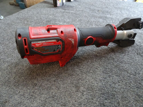 Milwaukee 2672-20 M18 Cordless Force Logic Cable Cutter ASCR Jaw damaged blade