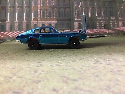 Used, Corgi Toys Rockets Aston Martin DB5 Sports Car  1970's  Rare Electric Blue for sale  Shipping to Nigeria