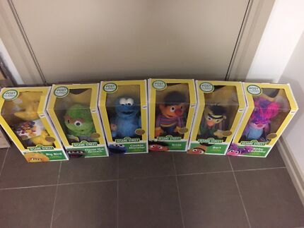 Sesame Street classic collection brand new 6 plush toys