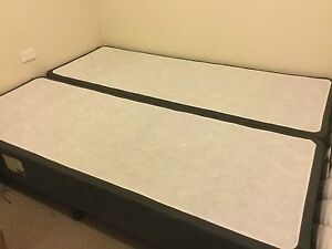 Sealy Queen bed with Sealy Mattress Glenfield Campbelltown Area Preview