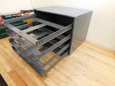 Durham 4 Drawer Small Parts Slide Rack Cabinet 303-95 Damage