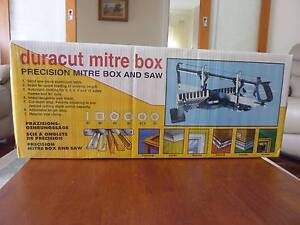 DURACUT MITRE BOX AND SAW Lockleys West Torrens Area Preview