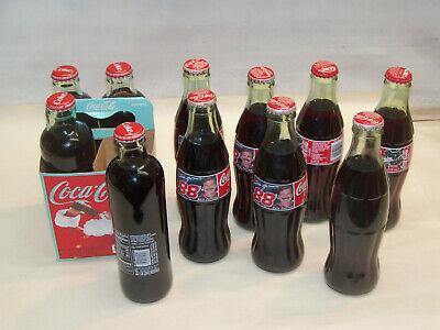 11 Unopened Vintage Coke Cola Bottles PRD2973