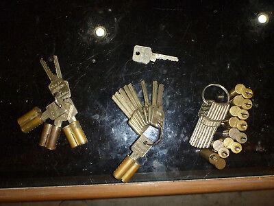 Medeco Keymark Cores With Keys