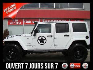 2017 Jeep Wrangler Unlimited Modèle Sahara 4 portes traction int