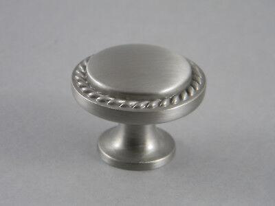 AMEROCK CABINET ROPE KNOBS BP53001-G10  SATIN NICKEL Amerock Rope Cabinet Knob