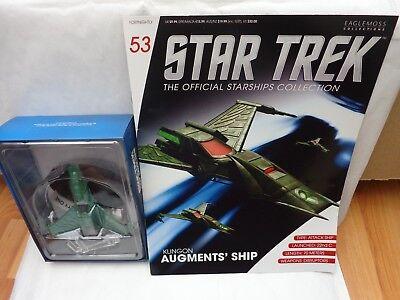 Usado, Star Trek Eaglemoss Oficial Naves Espaciales Colección 53 Klingon Augments Barco comprar usado  Enviando para Brazil