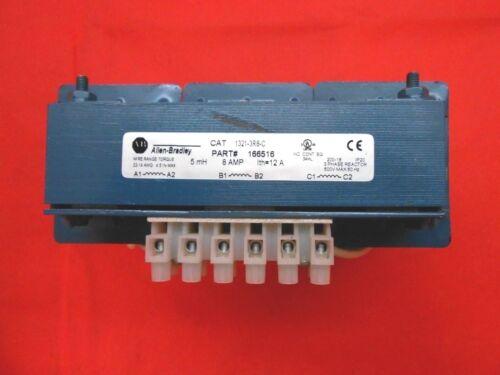 ALLEN BRADLEY 1321-3R8-C TRANSFORMER AND LINE REACTOR 600 V 8 A - RECON/TESTED