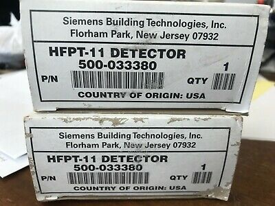 2 - Siemens Hfpt-11 Thermal Detector Fire Alarm