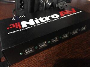 NitroAV Nitro AV FireWire Hub Repeater Pro 10 Port