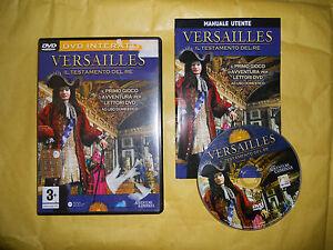 LETTORE-DVD-GAME-VERSAILLES-IL-TESTAMENTO-DEL-RE-INTERATTIVO-ITALIANO-ITA