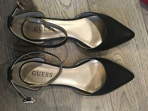 Women's guess flats with ankle straps